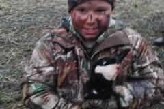 Hunter Morgan on a goose hunt 2014